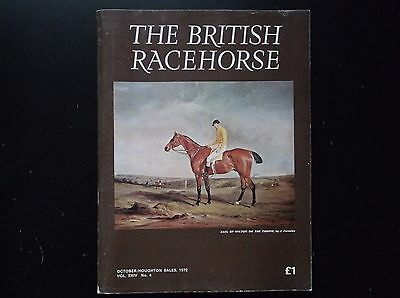"""the British Racehorse"" Magazine Oct Sales Issue 1972"