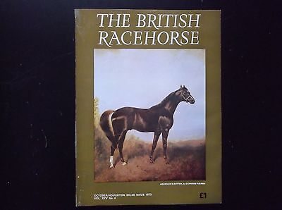 """the British Racehorse"" Magazine Oct. Sales Issue 1973"