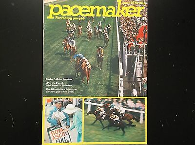Pacemaker Magazine June 1974 Derby & Royal Ascot On Cover