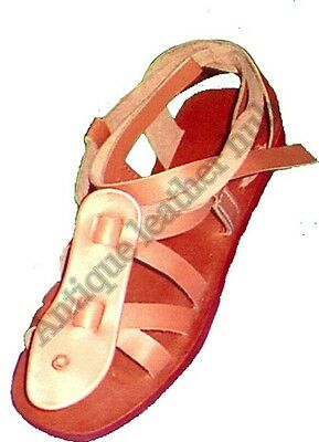 Roman sandals medieval leather sandals replicar Liner medieval leather greek sca