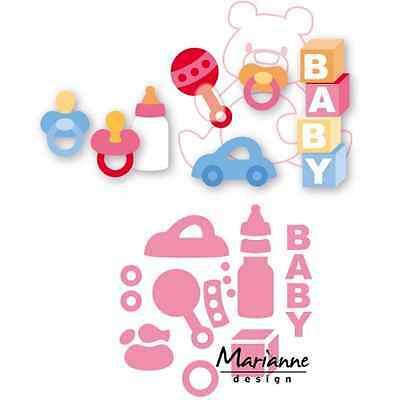 Marianne D Collectable Eline`s baby Spielzeug COL1421 15x21 cm 381421