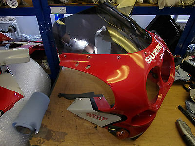 suzuki gsxr750 88-89 slingshot top fairing headlight panel