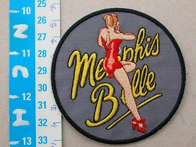 """Embroided patch  - """"Memphis Belle"""""""