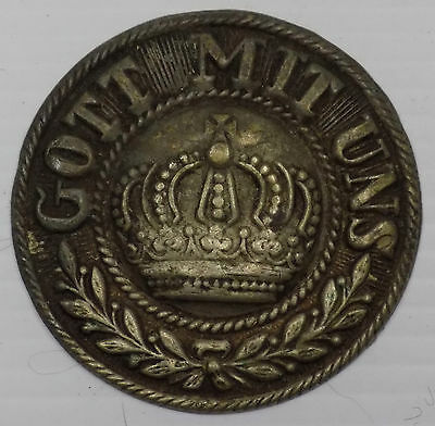 WW1 Original German Army Parade Belt Buckle centre