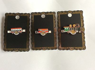 Hard Rock Cafe Bahrain Eisenbahn Train 3 Pins