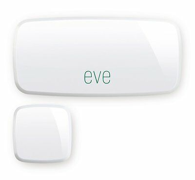 DD213 Elgato Eve Door & Window, Kabelloser Kontaktsensor mit Apple HomeKit