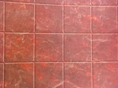 Miniatures Wall Floor Covering Tiles Linoleum Dollhouse Diggs 1:12 Copper Marble