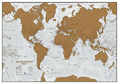 Scratch The World - Scratch off places you travel!