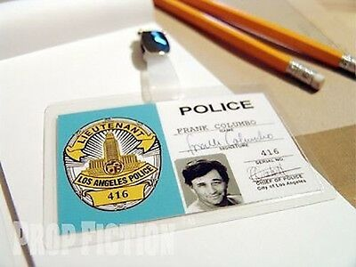 Columbo - LAPD Police Warrant Clip-on Prop ID Card