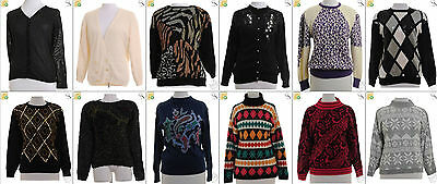 JOB LOT OF 20 VINTAGE MIXED KNITS- Mix of Era's, styles and sizes (18057)*