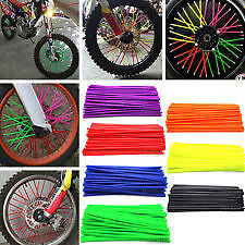 Couvre Rayon / Spoke Skin Moto Cross Jante 10 Coloris 72 Pcs  Ktm 80 125 250 450