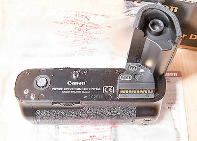 Canon Power Drive Booster PB-E2 - with AA Battery Magazine, for EOS 1V 1N boxed