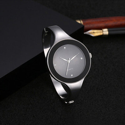 Fashion Woman Ladies Dress Watch Stainless steel Wristwatch Bracelet Quartz