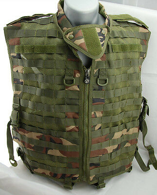 Airsoft,Special Ops Tactical Paintball  Vest - Woodland-XL Large - NEW (23)