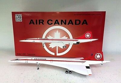 InFlight200 Concorde Air Canada CF-SST Ref: IFCONC1116 (with stand)