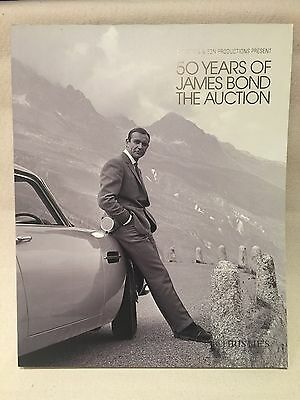 JAMES BOND 50 YEARS CELEBRATION CHRISTIE'S AUCTION CATALOGUE RARE 007 Skyfall
