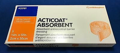 Smith & Nephew Acticoat Barrier Dressing - Reference: 20181 - Box of 5 - In Date