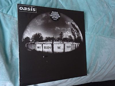 OASIS Don't Believe The Truth Vinyl RKIDLP30X MINT Sealed limited numbered Print