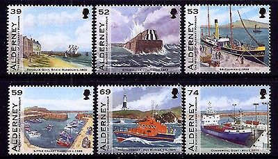 Alderney 2012 Harbour very fine fresh MNH set