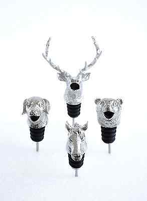 Bear Animal Wine Pourer Aerator, Also Available: Deer, Dog and Horse