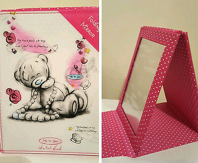 Folding Mirror Me To You Tatty Teddy Sketchbook Gift Present Christmas