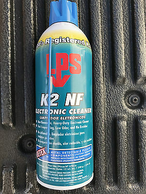 One (1) LPS K2 NF Electronic Cleaner 12 ounce Aerosol, NEW