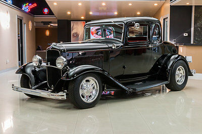 1932 Ford 5-Window  Custom 5-Window Coupe! Ford 289ci V8 Engine, C4 Auto, Henry Ford Steel Body!
