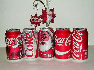 3D Star with 8 Points Repurposed Small and Large Coke Ornaments