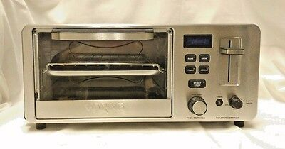 Waring Pro WTO180CMR Digital LCD Countertop Toaster Oven & Toaster Combination
