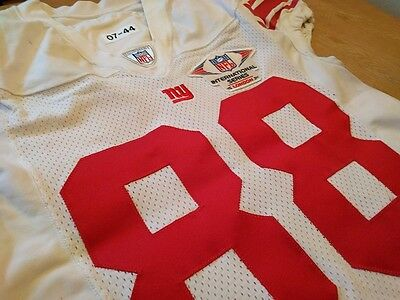 Giants vs. Dolphins NFL Wembley 2007 Match Worn Shirt / Game Used Jersey