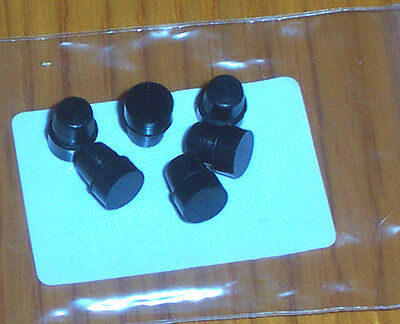 79-82 HONDA CBX Carburetor Carb Passage Idle Circuit Rubber Plugs - SET OF 6