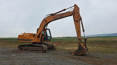 1998 Case 9020B Excavator Hydraulic Diesel Track Hoe Construction Machinery Cab