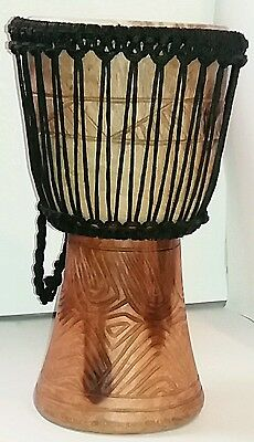Small Lightweight Professional Djembe Drum Authentic African Artisanship 2