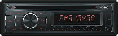 Bravo View IND-X800BT In-Dash CD/MP3 Receiver with Bluetooth and USB/SD/AUX-In