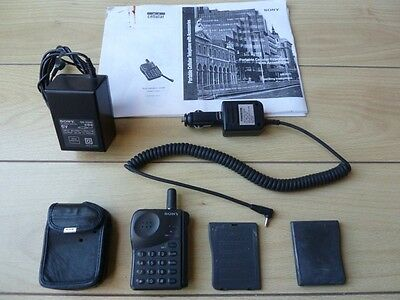 Sony CMR111 Vintage Mobile and Extras