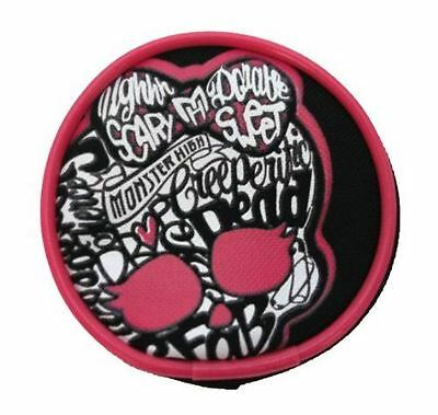 Officially Licensed | MONSTER HIGH | Coin Purse Round with Zip Closure