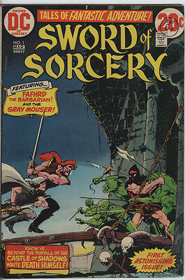Sword of Sorcery Issue 1 from 1973 Scarce Fafhrd & Gray Mouser