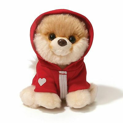 Gund - Itty Bitty Boo Dog with Red Hoodie - 5""