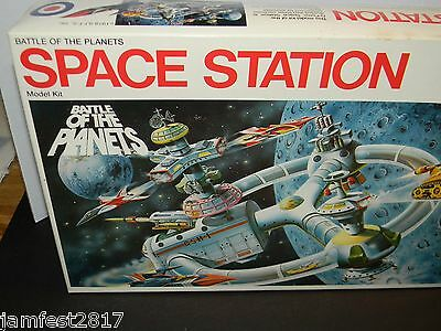 """"""" Battle of the Planets Space Station """" 1978, ENTEX, JAPAN, NEW IN BOX, 8411"""