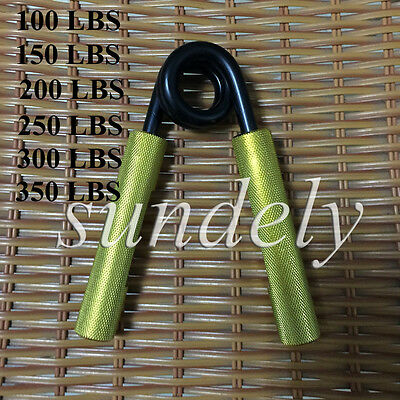 Gold Arm Grip Hand Grippers Heavy Wrist Excercise Grip Strength Forearm Training