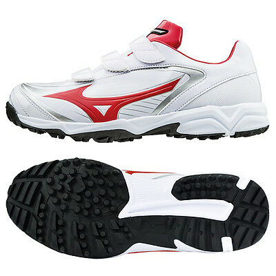 Mizuno Men's Select 9 Trainer CR Baseball Cleats Red/White 11GT172262