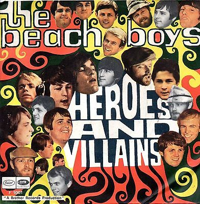 The Beach Boys-Heroes And Villains/You're Welcome 45 NM Italian Issue