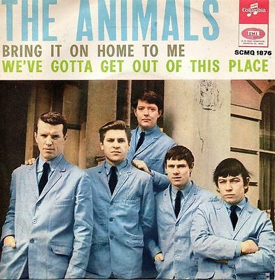 The Animals-Bring It On Home To Me/We've Gotta Get Out Of This Palace 45 giri NM