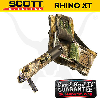 Scott Releases - Rhino XT - String Loop Release Aid - Archery Bowhunting