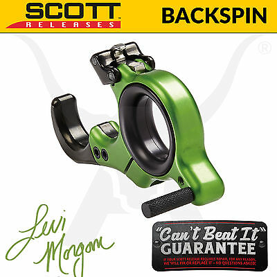 Scott Releases - Backspin Release Aid - Levi Morgan Edition - Target Archery