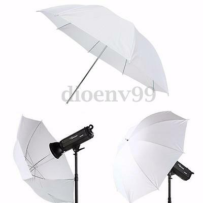 Photography Video Studio Lighting Translucent Flash Umbrella Soft White 43''