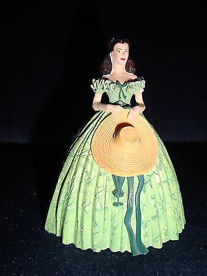 Gone With The Wind Franklin Mint Figurine Scarlett