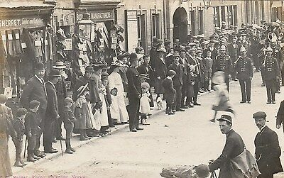 RP Postcard by Packer.Police,Firemen & Postman.  CHIPPING NORTON.