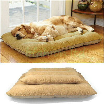 Soft Thick Heavy Duty Waterproof Dog Bed Mat Cushion Mattress Pad Washable Cover