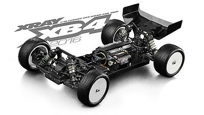 Xray XB4  1:10 4WD Off Road Buggy EP RC Cars 2016 Specs